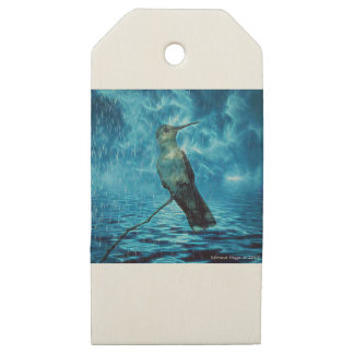 Hummer and the Hurricane Wooden Gift Tags