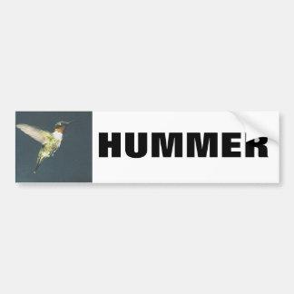 HUMMER Bumpersticker Car Bumper Sticker
