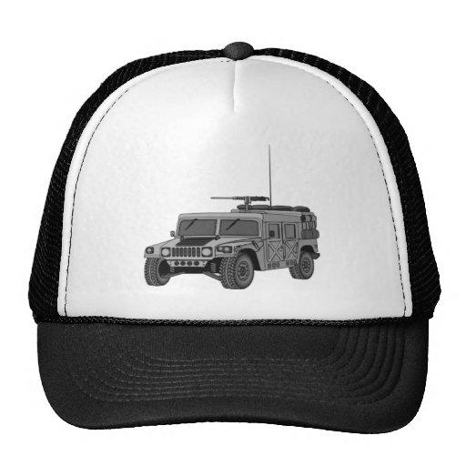 Hummer de plata gorro de camionero