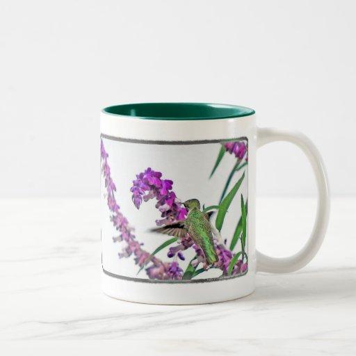 Hummer feliz taza de café de dos colores
