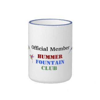 Hummer Fountain Club Coffee Mugs