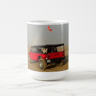 Hummer H1 in Pismo Beach Dunes! Coffee Mug