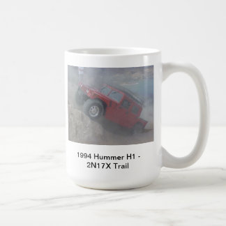 Hummer H1 Off Road 2n17X Trail Coffee Mug