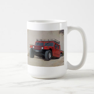 Hummer H1 Off Road Climbing Hill Coffee Mug