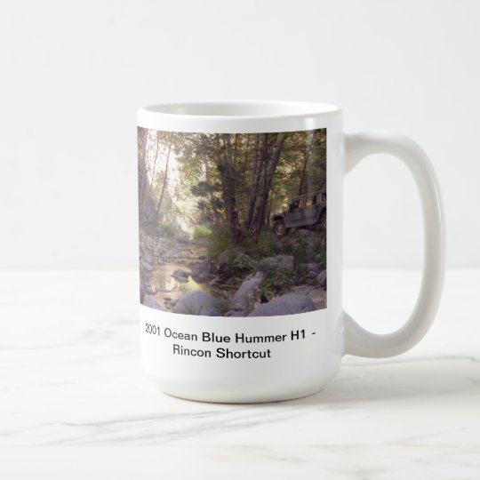 Hummer H1 Off Road Coffee Mug