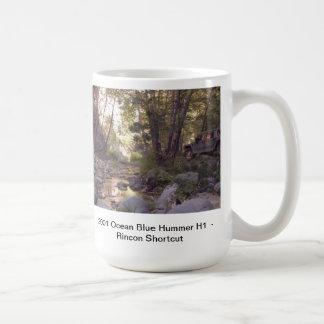 Hummer H1 Off Road Classic White Coffee Mug