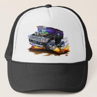 Hummer H2 Black Truck Trucker Hat