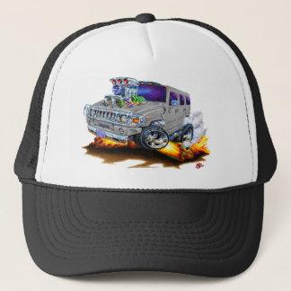 Hummer H2 Grey Truck Trucker Hat