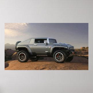 Hummer HX3 Concept Vehicle Print