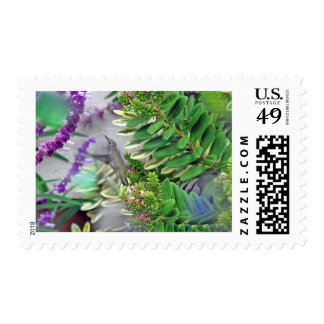 Hummer II Postage Stamp