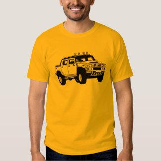 Hummer inspiró la camiseta poleras