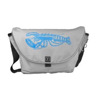 Hummer light blue series messenger bag