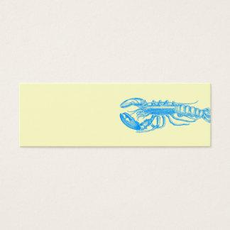 Hummer light blue series mini business card