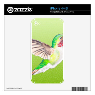 Hummer Lime Decal For The iPhone 4S