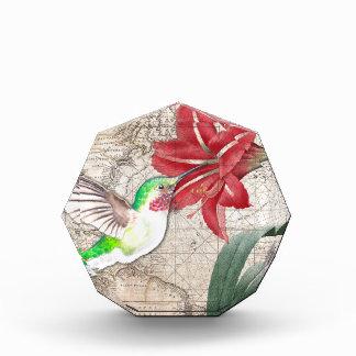 Hummer Map ammaryllis II Acrylic Award