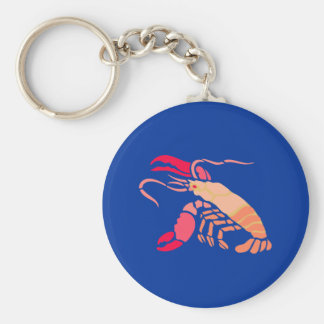 Hummer more lobster key chain