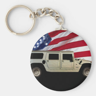 Hummer Patriot Tribute Keychain