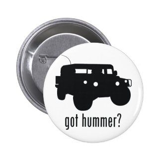 Hummer Pinback Button