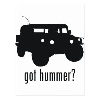 Hummer Postcard