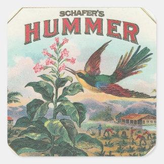 Hummer Square Sticker