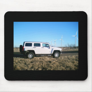 Hummer & Wind Power Mouse Pad