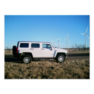 Hummer & Wind Power Posters