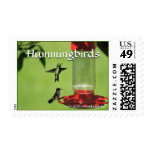 stamp, postage, hummingbirds, makara