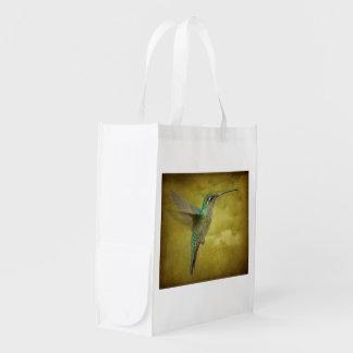 Humminbird magnífico bolsa reutilizable