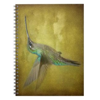 Humminbird magnífico libreta espiral