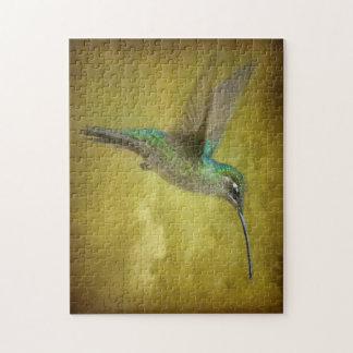 Humminbird magnífico rompecabeza