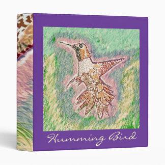 Humming Bird 3 Ring Binder