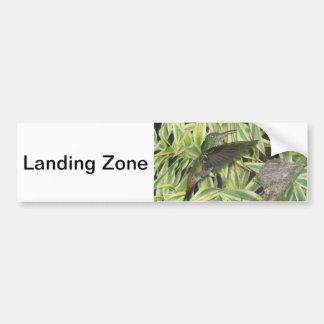 humming_bird bumper sticker