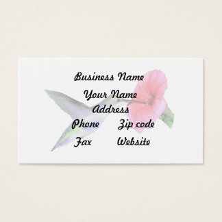 Humming Bird Business Card