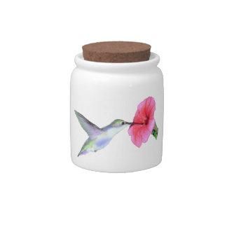 Humming Bird Candy Jars 10oz