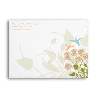 Humming Bird Christian Two Become One Envelope