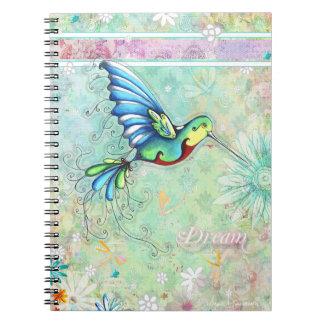 Humming Bird Dream Notebook
