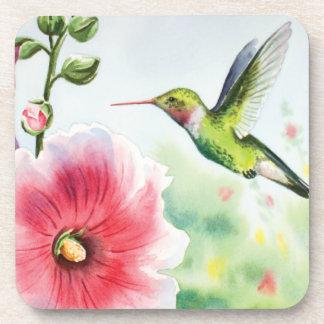 Humming bird drink coaster