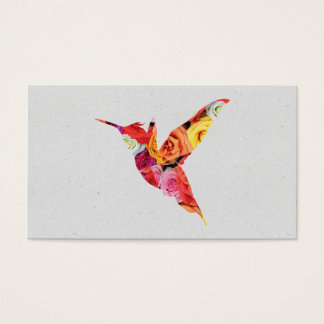 Humming Bird | Flowers II Business Card