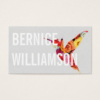 Humming Bird | Flowers III Business Card