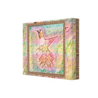 Humming Bird  : For Winners Canvas Print
