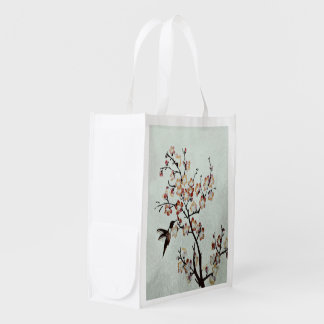 humming-bird (I) Grocery Bag