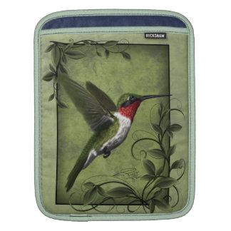 Humming bird I-pad sleeve