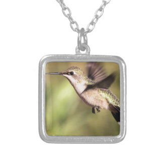Humming bird in Flight Necklaces