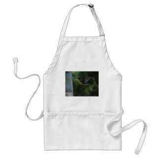 Humming Bird in Mid Air Adult Apron