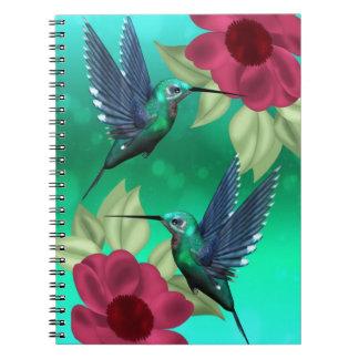 Humming bird jotter notebook