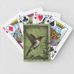 Humming Bird Playing Cards