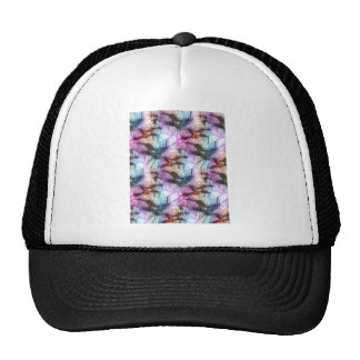 Humming Bird Stained Glass Trucker Hat
