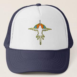 Humming Bird Tribal Trucker Hat
