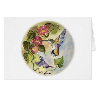 Humming Birds Cards