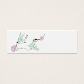Humming Birds Mini Business Card